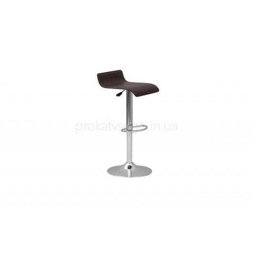 Барный стул волна черный