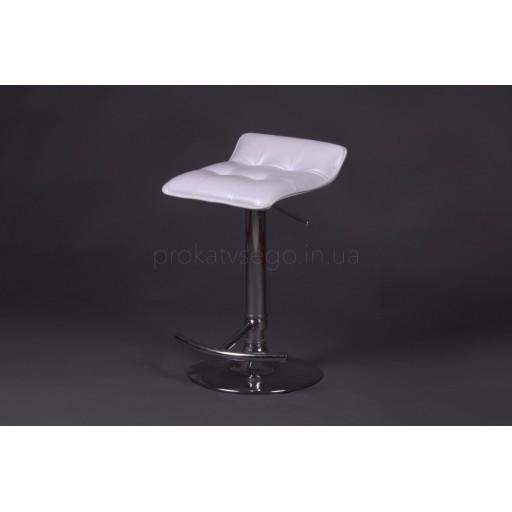 Барный стул Волна белый