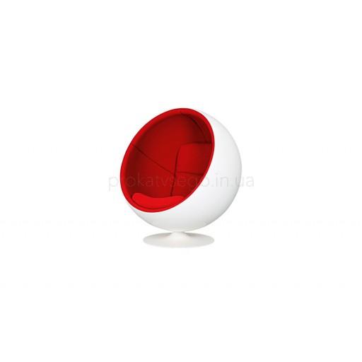 Кресло Бол (BALL) красное