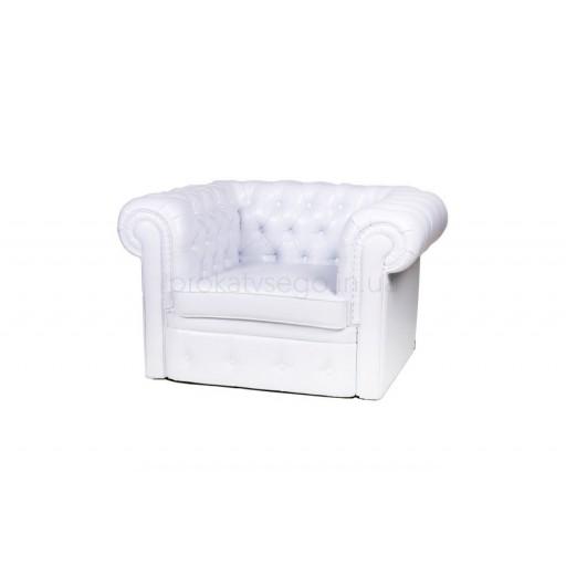 Кресло честер (chester) белое