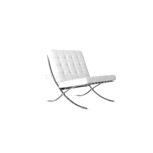 Кресло барселона (Barcelona) белое