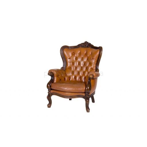Кресло барокко (barocco) коричневое