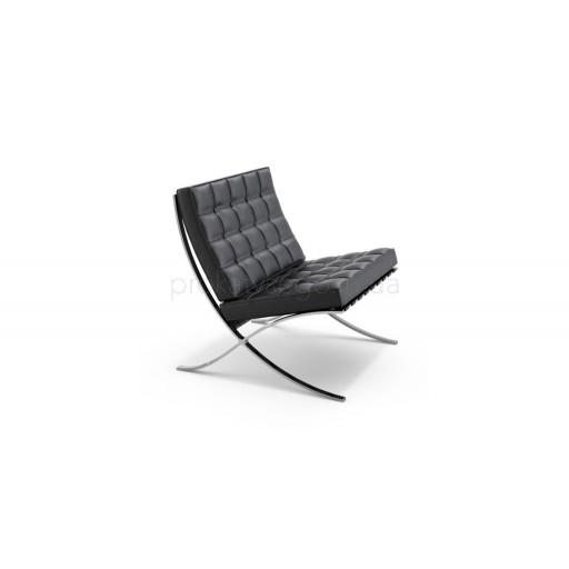 Кресло барселона (Barcelona) черное