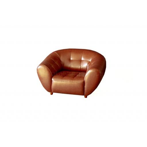 Крісло Магнат коричневе