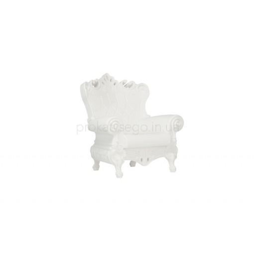 Кресло Слайд (Slide) белое
