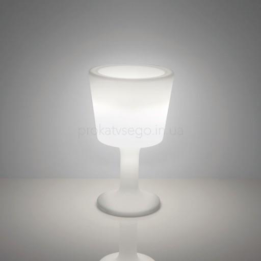 Бокал для льда SLIDE с LED подсветкой