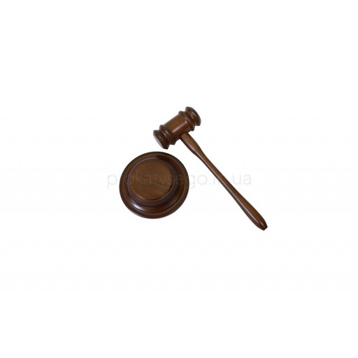 Молоток для аукциона (молоток судьи)