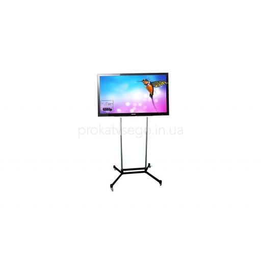 LCD телевизор с напольной подставкой