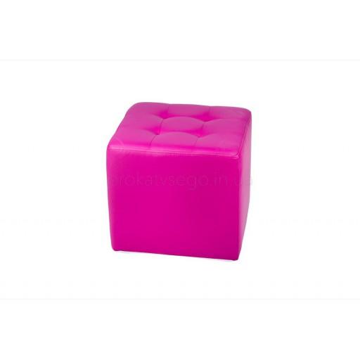 Пуф розовый 45*45см