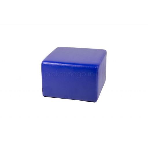 Пуф синий 60*60см