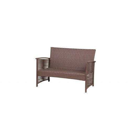Ротанговый диван 2х местный