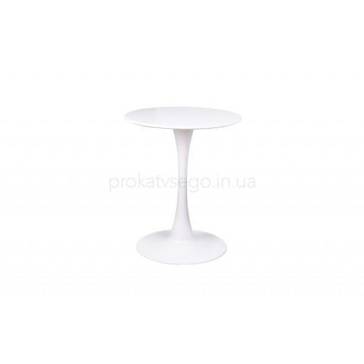 Стол тюльпан белый д60см