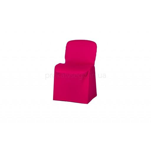 Чехол стрейч на стул красный