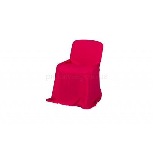 Чехол на стул красный