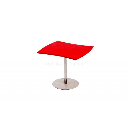 Столик Фигурный Красный
