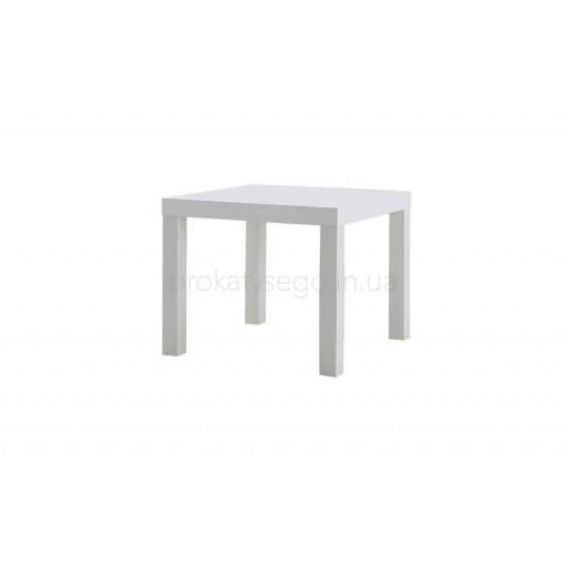 Столик Квадратный Белый