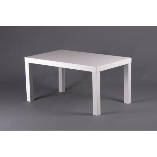 Столик прямоугольный белый