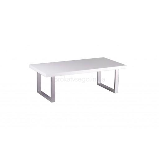 Прямоугольный столик SANTA FE с металической ножкой