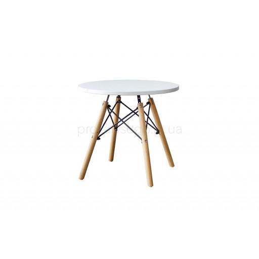 Стол журнальный Tower wood белый